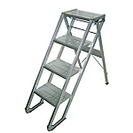 Work Stepladder MT Step X Type Eco (with Casters)