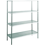 Stainless Steel Punching Canyon Shelf