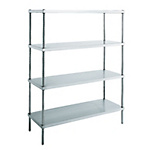 Super Solid Canyon Shelf (SUS304 / Gap-Less Shelf-Type)