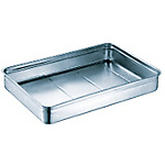 18-8 Stainless Steel Food Tray