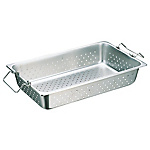 Perforated Hotel Pan with Handles (Stackable)