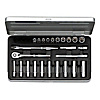 Socket wrench set (6 sided type / 6.3 mm Insertion Angle)