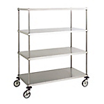 Stainless Steel Wagon C4-Type / Solid Cart (SUS304)