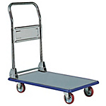 Stainless Steel Transportation Cart, Foldable Handle Type, 456 Uniform Load (kg) 150/300