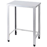 Stainless Steel Workbench, 3-Way Frame Type, SUS430 Uniform Load 240 kg