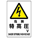 Danger Marks (Related to High Voltage and High Pressure Gas)