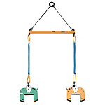 Panel/Wood Beam Lifting Clamp Scales Set