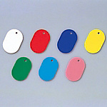 Colored Oval Tag