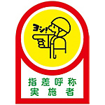"Helmet Stickers ""Pointing and Calling Practitioner"""
