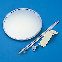 Small Round Wall Mirror