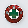 "Badge ""Safety Manager"" Size 30 (mm) Round"