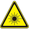 Laser Warning Label Laser A (Small)