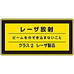 "Laser Sign ""Do Not Look at the Laser Emission Beam Class 2 Laser Product"" Laser C-2 (Small)"
