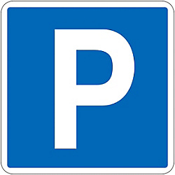 "Road Surface Traffic Sign ""P"" Road Surface -403"