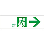 "Passage Guidance Sign ""Emergency Exit →"""