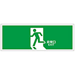 "Exit Guide Sign ""Emergency Exit"" FA-301"