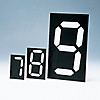 Magnet Type Numeric Display Unit Magmac (with Adhesive Tape Backing)