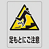 "Transparent Sticker ""Watch Your Feet"" TM-11M"