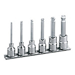Ball Point Hexagonal Socket Set (with Holder) HBH306