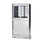 Stainless Steel Chemical Storage Cabinet 900x450x825 – 900x450x1650