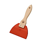 Rubber Spatula with Handle Red Small