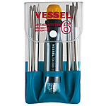 Screwdriver Set for Voltage Detection Replacement Set of 6 (for Low Voltage)
