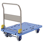 Silent Resin Large Dolly with Foot Brake