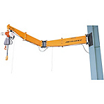 Jib Crane - Pole Mounted / Bolt/Nut Type (Swivel Joint Type)