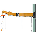 Jib Crane - Pole Mounted / Welded Type (Swivel Joint Type)
