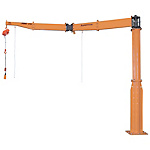 Jib Crane - Floor Fixed / Arm Joint Type (Swivel Joint Type)