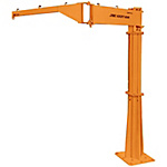 Jib Crane - Floor Fixed / Simple Type (Swivel Joint Type)