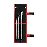 Ultra-Long, Flex-Head Ratchet Offset Wrench Set