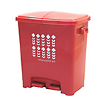 Eco Pedal Trash Can 4 Compartments