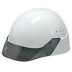 PC Resin Helmet SP-25V Model (Including Air Holes, Transparent Visor, Shock Absorbing Liner) SP-25V-SP-SP25-A
