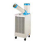 Spot Cooler with Exhaust Heat Duct, Automatic Swivel Neck, Three-Phase 200 V