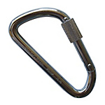 Carabiner Offset-D Type with Ring by Ito Corporation 1 2 3