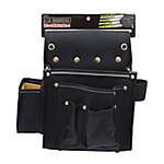 BLACK STYLE Frame Nail Bag, Square, with Ink Pad Pocket