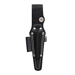 Gokusyoh Black Leather Screwdriver Holster Long