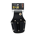 Shokunindo Black Leather, Holster for 2 Pliers SBL-03