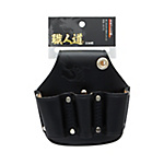 Shokunindo Black Leather, Holster for 3 Pliers SBL-04