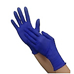 Crecia Protect Guard, Dark Blue Nitrile Gloves