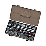 Tool Set (Single Door Type Plastic Hard Case TCP1-1 Type)