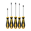 Comfortable Grip Type Screwdriver Set (5 Pcs./Set)