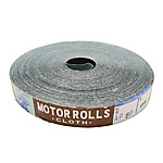 Emery Cloth Roll Of MOTOR Brand, 25 mm Wide (Plain Weave)