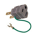 2-Pin to 3-Pin Conversion Plug SS-15