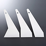 Inouekougu Baseboard Spatula Set (Includes 1 Each of 55 mm, 75 mm and 90 mm)