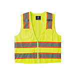 High Visibility Storable Tricot Vest 809