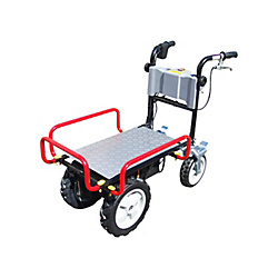 Enetora 4 Mini Electric Powered Transportation Cart (Self-Sealing Tire Spec)