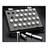 Pin Gauge Set (0.01‑mm Step, Nominal Dimension From 20 mm) With Tapped Hole DF Series