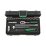 1/4 SQ Socket Wrench Set 40/13/6KN